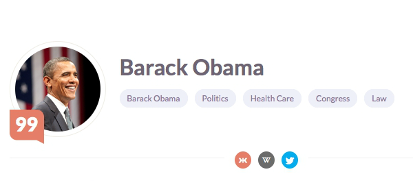 Article image - Barack Obama